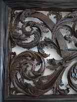 Большой транец Приорат От Людовика XIV ажурных-6