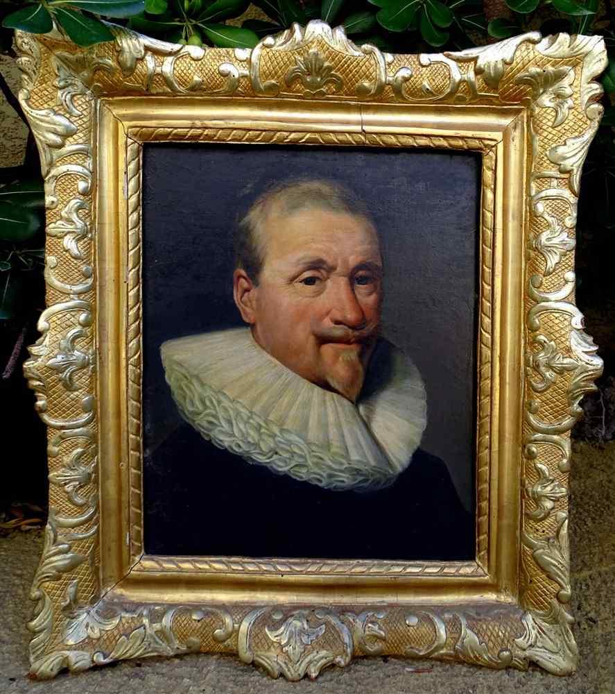 Portrait d'Un Gentilhomme Sous Louis XIII Ecole Française
