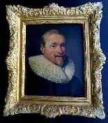 Portrait d'Un Gentilhomme Sous Louis XIII Ecole Française-9