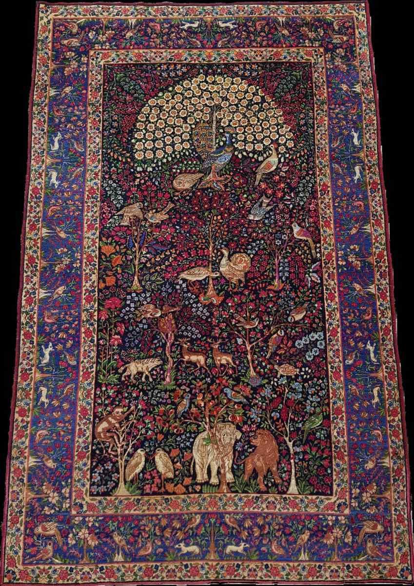 Kirman ковер Шерсть Kork - Иран К 1920 - 20-го века