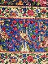 Kirman ковер Шерсть Kork - Иран К 1920 - 20-го века-7