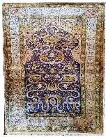 Tapis Ottoman En Soie - (asie Mineure, Turquie) 20ème Siècle-7