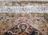 Tapis Ottoman En Soie - (asie Mineure, Turquie) 20ème Siècle-1