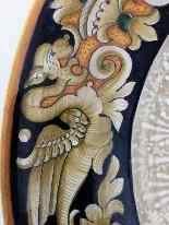 Plaque céramique Deruta de 900 Sec XX D:. 45cm-4