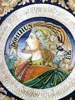 Plaque céramique Deruta de 900 Sec XX D:. 45cm-3
