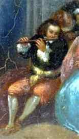 Fantasy Galante Antoine WATTEAU (Follower) and a Pair-0