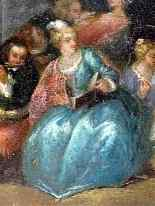 Fantasy Galante Antoine WATTEAU (Follower) and a Pair-2