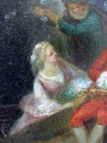 Fantasia Galante Antoine WATTEAU (follower) ed una coppia-9