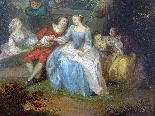 Fantasia Galante Antoine WATTEAU (follower) ed una coppia-10