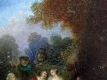 Fantasia Galante Antoine WATTEAU (follower) ed una coppia-5