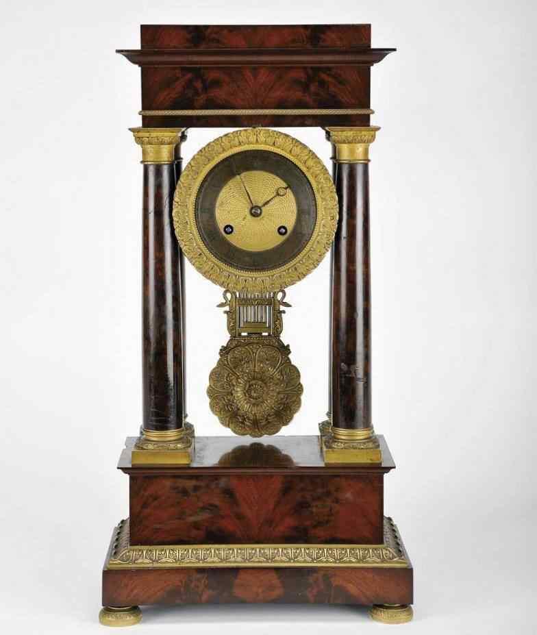 Orologio Pendolo Impero Francia del 800 Sec. XIX :: AnticSwiss