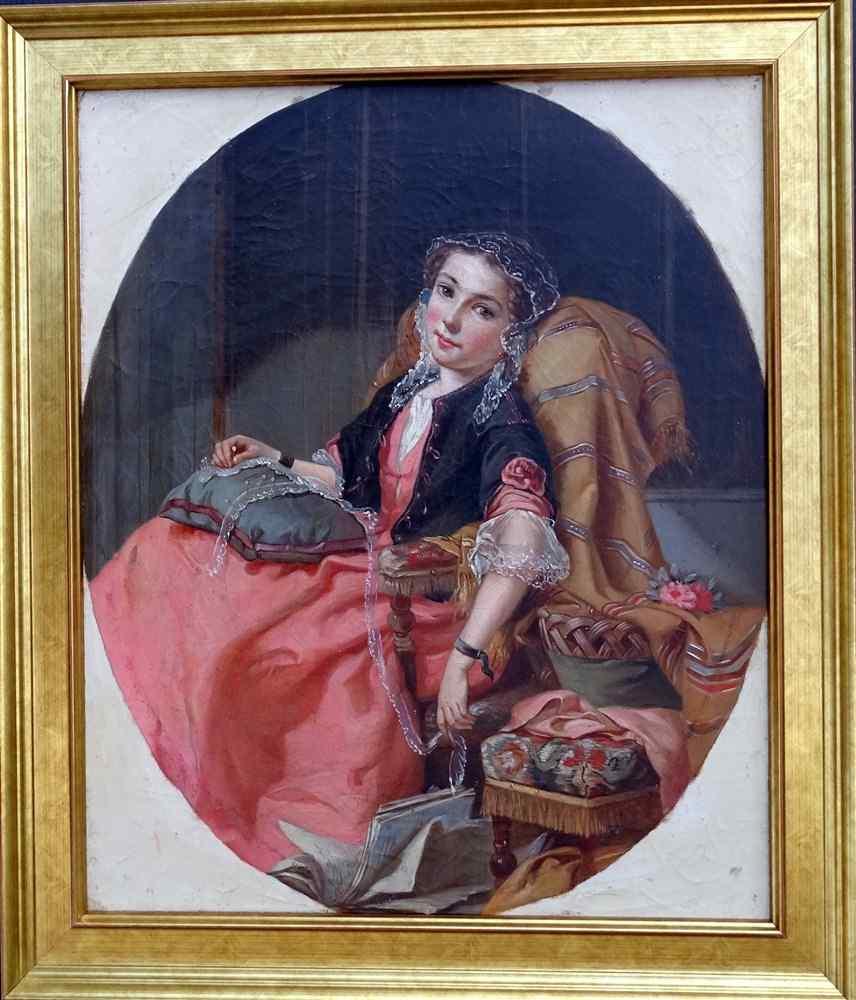 Ritratto di un giovane 19 Scuola Francese