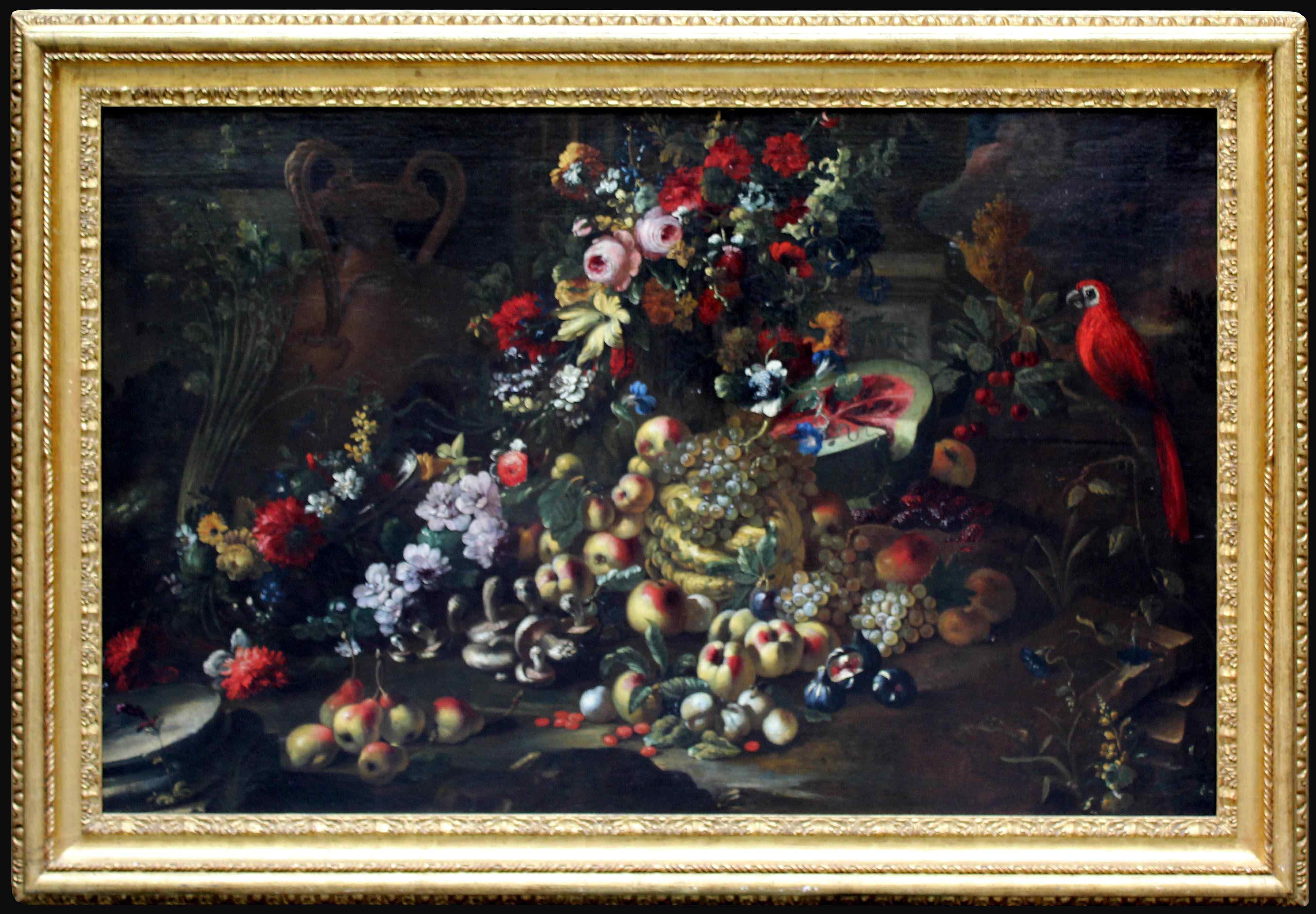 Abraham Brueghel (Anvers, 1631 - Naples, 1697), Nature morte