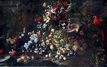 Abraham Brueghel (Anvers, 1631 - Naples, 1697), Nature morte-1