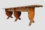 Grande e raro tavolo da parata XVII secolo - Italia-10