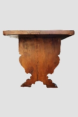 Grande e raro tavolo da parata XVII secolo - Italia-6