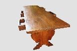 Grande e raro tavolo da parata XVII secolo - Italia-4