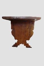 Grande e raro tavolo da parata XVII secolo - Italia-2