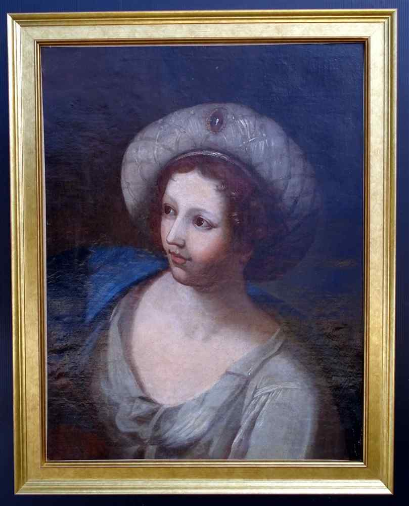 Italian School 17th Portrait of Sibyl