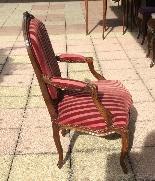 Paire de fauteuils LOUIS XV досье plats dits-1