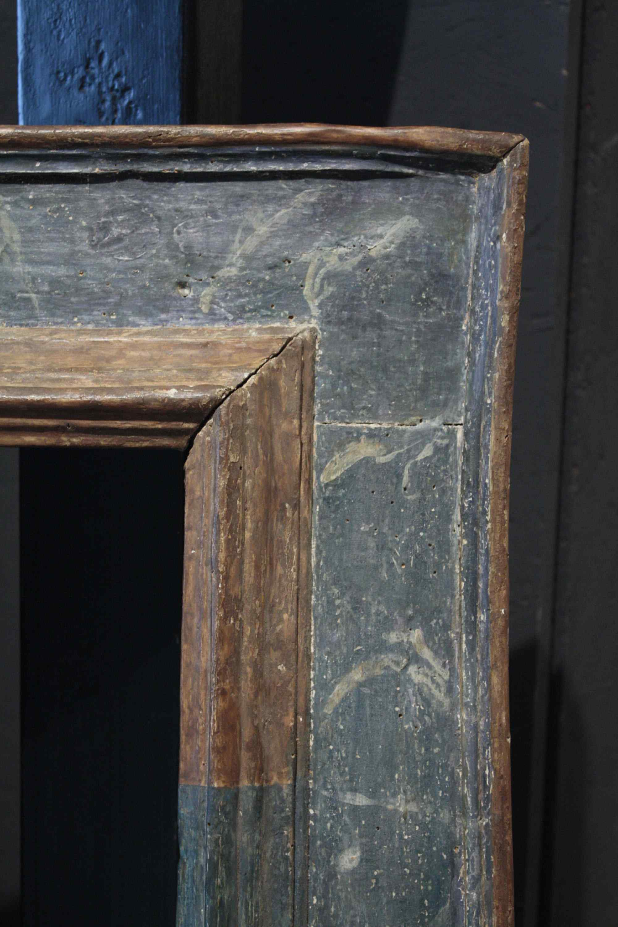 Marble lacquered frame, sec. XVII