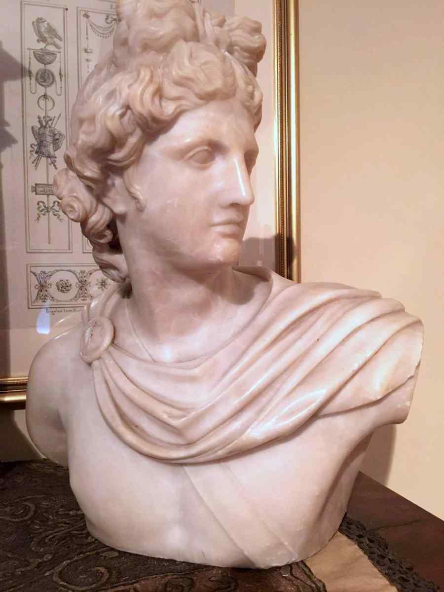 Pietro Bazzanti, Marble Bust