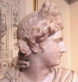 Pietro Bazzanti, Marble Bust-0