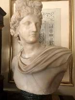 Pietro Bazzanti, Marble Bust-4