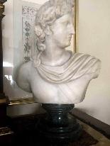 Pietro Bazzanti, Marble Bust-1