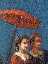 Пьетро Лонги, The Fall, Венеция C1730, одна пара-8