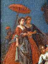 Пьетро Лонги, The Fall, Венеция C1730, одна пара-6