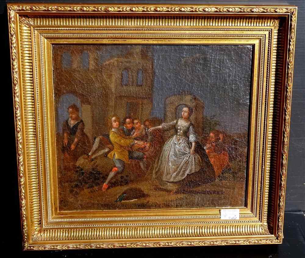 Pietro Longhi, La danza, Venezia C1730, una coppia