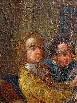 Pietro Longhi, La danza, Venezia C1730, una coppia-10