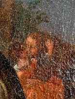 Пьетро Лонги, Танец, Венеция C1730, одна пара-6