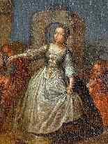 Pietro Longhi, La danza, Venezia C1730, una coppia-5