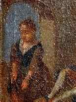 Пьетро Лонги, Танец, Венеция C1730, одна пара-2