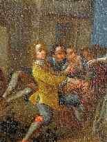 Pietro Longhi, La danza, Venezia C1730, una coppia-4