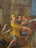 Пьетро Лонги, Танец, Венеция C1730, одна пара-4