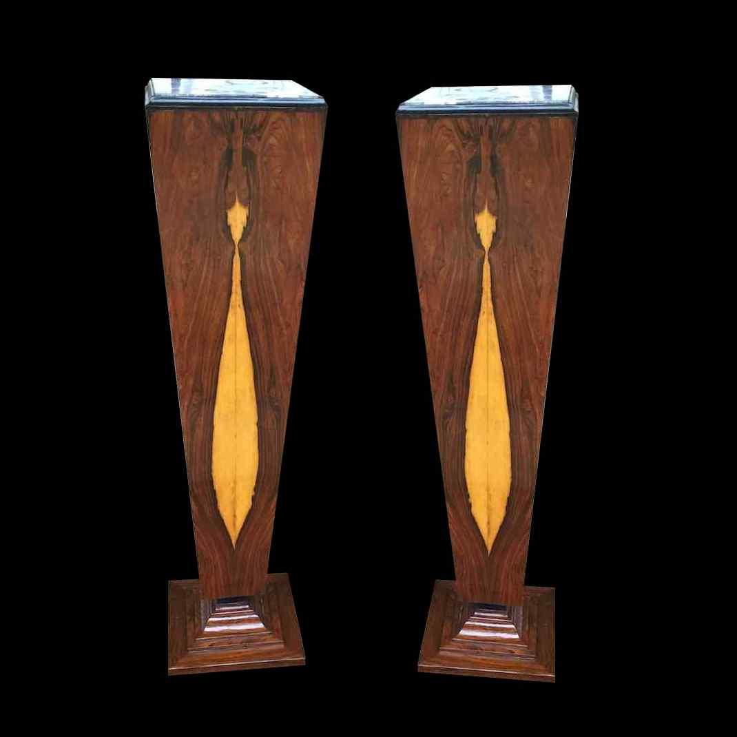 Coppia di colonne XX secolo