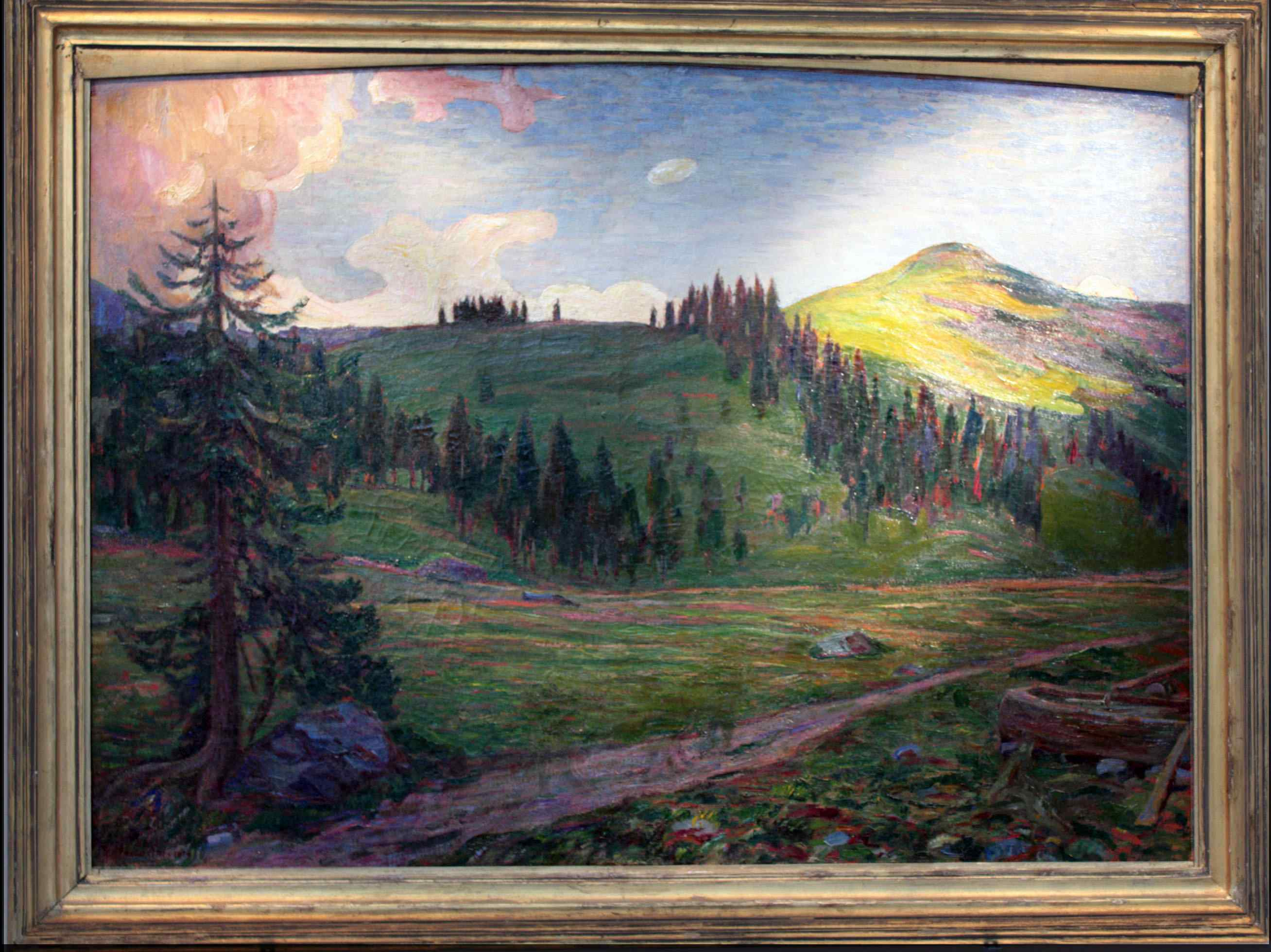 Giuseppe Mascarini (Bologna 1877 - Milano 1954) -  Sentiero