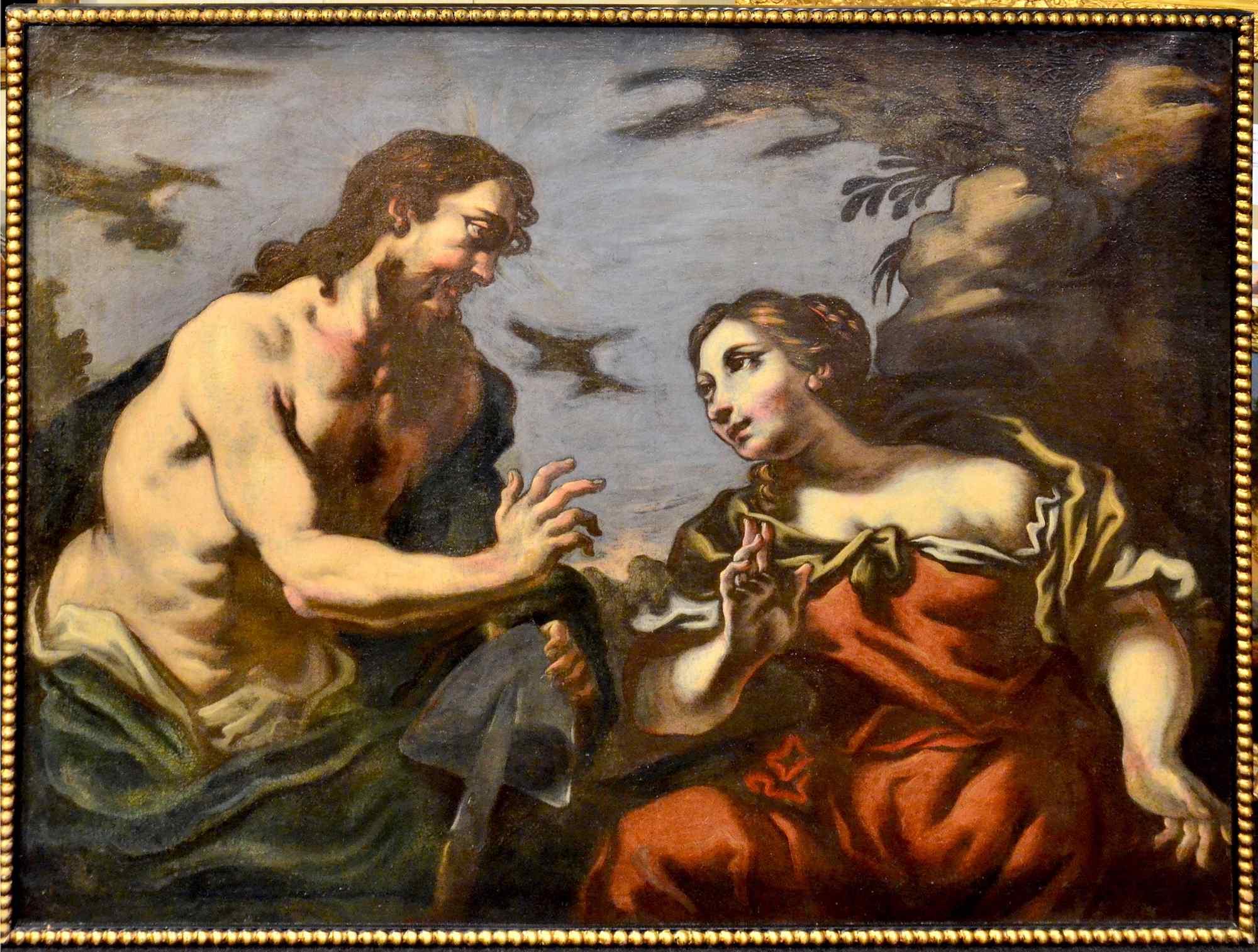 Antonio Zanchi (Este 1631 - Venezia 1722), Coppia di dipinti