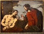 Antonio Zanchi (Este 1631 - Venezia 1722), Coppia di dipinti-1
