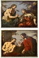 Antonio Zanchi (Este 1631 - Venezia 1722), Coppia di dipinti-11
