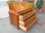 Antique Louis XVI Chest of drawers Bureau in walnut - 18th-3