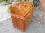 Antique Louis XVI Chest of drawers Bureau in walnut - 18th-6