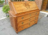 Antique Louis XVI Chest of drawers Bureau in walnut - 18th-1