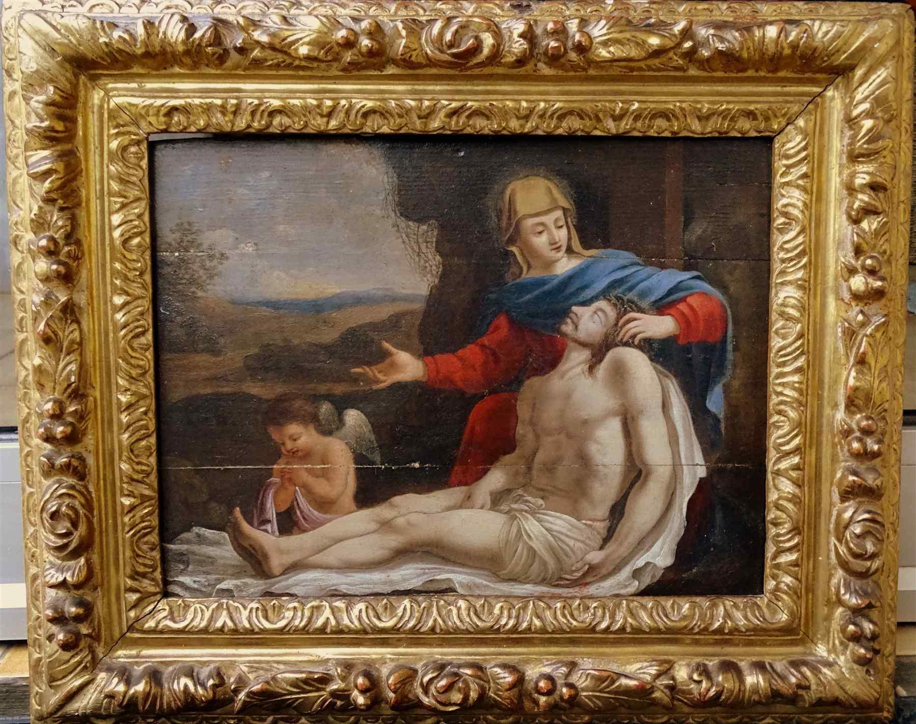 Vierge de Piété Ecole Française 16ème