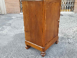 Antique Louis Philippe Bedside table in walnut - Italy 19th-8