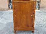 Antique Louis Philippe Bedside table in walnut - Italy 19th-10
