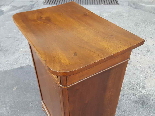 Antique Louis Philippe Bedside table in walnut - Italy 19th-7